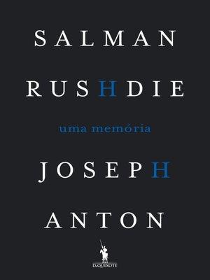 cover image of Joseh Anton--Uma Memória