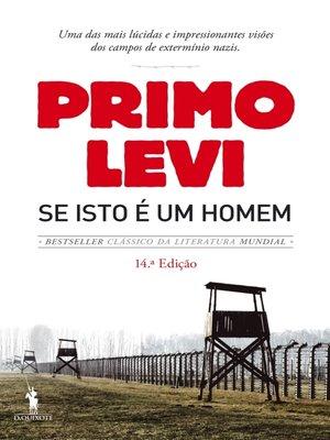 cover image of Se Isto é um Homem