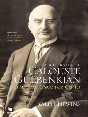 cover image of A Biografia de Calouste Gulbenkian