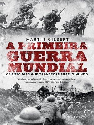 cover image of A primeira guerra mundial