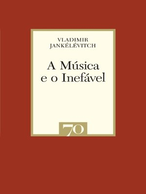 cover image of A Música e o Inefável
