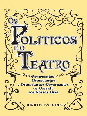 cover image of Os Políticos e o Teatro