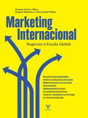 cover image of Marketing Internacional--Negócios à Escala Global