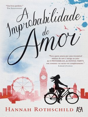 cover image of A Improbabilidade do Amor