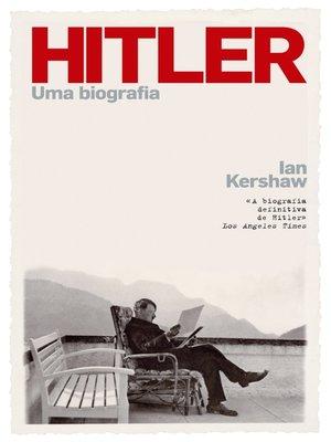 cover image of Hitler--Uma Biografia