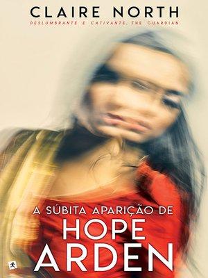 cover image of A Súbita Aparição de Hope Arden