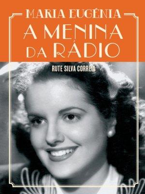 cover image of A Menina da Rádio