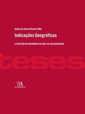 cover image of Indicações Geográficas