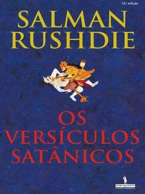 cover image of Os Versículos Satânicos