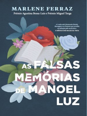 cover image of As Falsas Memórias de Manoel Luz