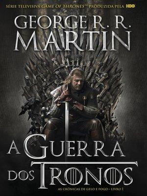 cover image of A Guerra dos Tronos