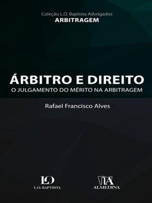 cover image of Árbitro e Direito