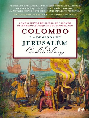 cover image of Colombo e a Demanda de Jerusalém