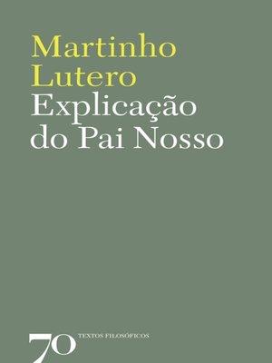 cover image of Explicação do Pai Nosso