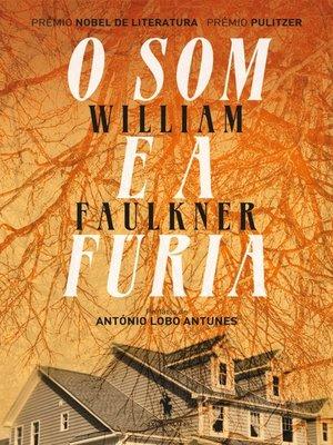 cover image of O Som e a Fúria