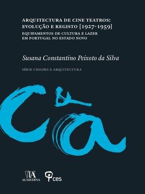 cover image of Arquitectura de Cine Teatros
