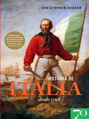 cover image of História de Itália--desde 1796