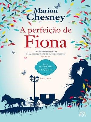 cover image of A Perfeição de Fiona