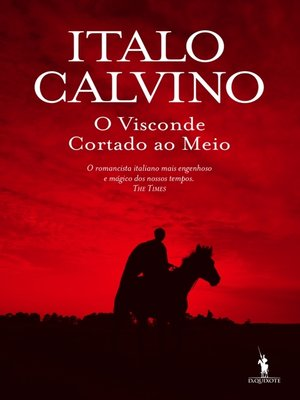 cover image of O Visconde Cortado ao Meio
