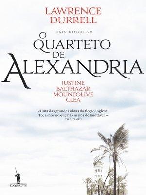 cover image of O Quarteto de Alexandria