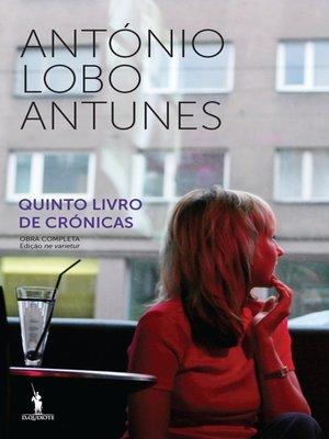 cover image of Quinto Livro de Crónicas