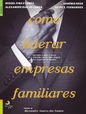 cover image of Como Liderar Empresas Familiares