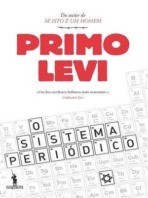 cover image of O Sistema Periódico