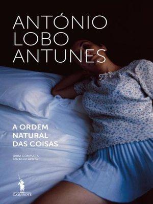 cover image of A Ordem Natural das Coisas