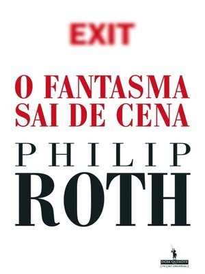cover image of O Fantasma Sai de Cena