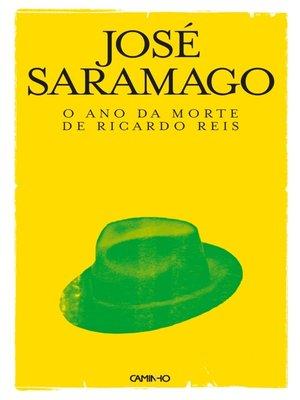 cover image of O Ano da Morte de Ricardo Reis