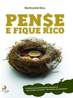 cover image of Pense e Fique Rico