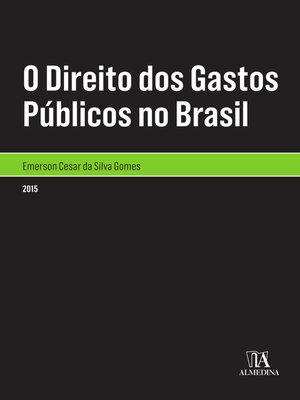 cover image of O Direito dos Gastos Públicos no Brasil