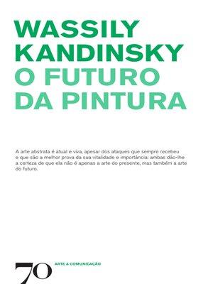 cover image of O Futuro da Pintura