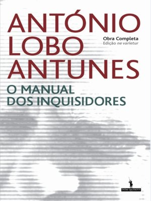 cover image of O Manual dos Inquisidores