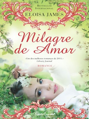 cover image of Milagre de Amor