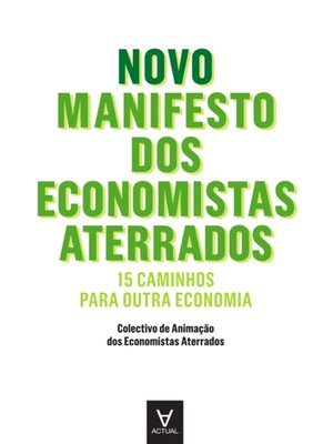cover image of Novo Manifesto dos Economistas Aterrados