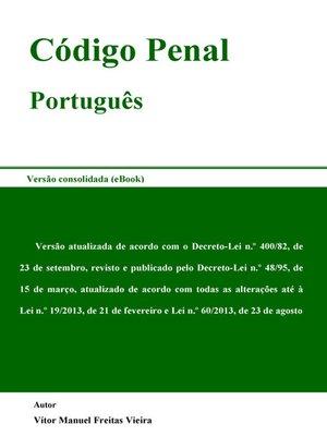 cover image of Código Penal Português