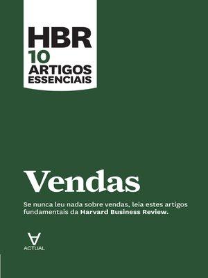 cover image of HBR 10 Artigos Essenciais--Vendas