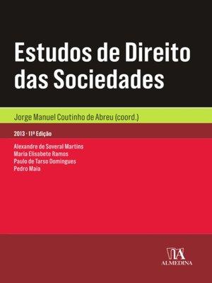 cover image of Estudos de Direito das Sociedades