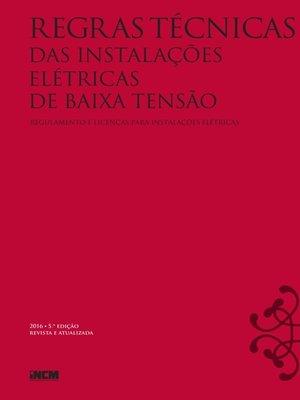 cover image of Regras Técnicas das Instalações Elétricas de Baixa Tensão