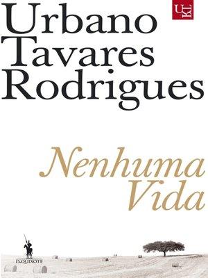 cover image of Nenhuma Vida