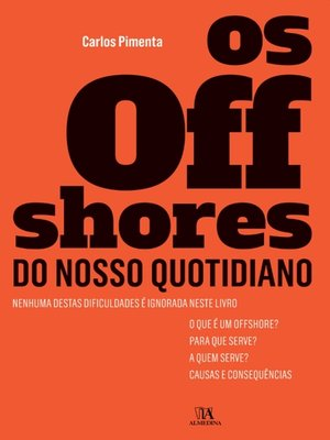 cover image of Os offshores do nosso quotidiano