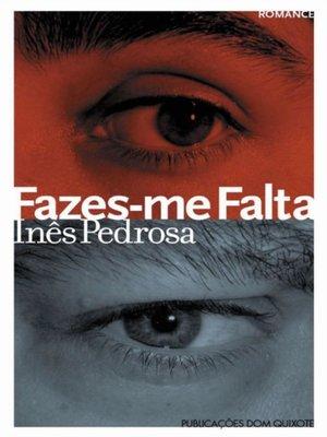 cover image of Fazes-me Falta