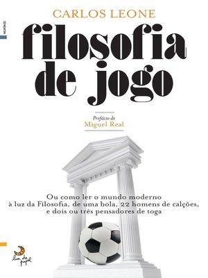 cover image of Filosofia de Jogo