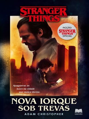 cover image of Stranger Things--Nova Iorque sob Trevas
