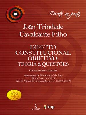 cover image of Direito Constitucional