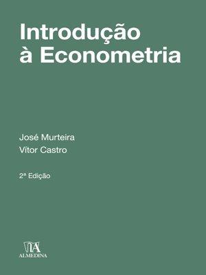 cover image of Introdução à Econometria--2ª Edição