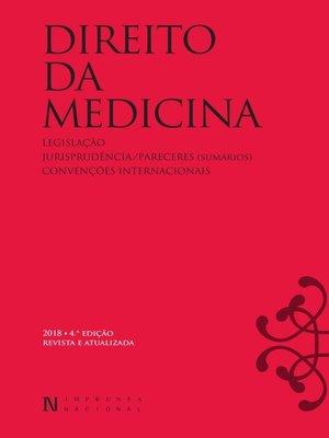 cover image of Direito da Medicina--4ª Edição Revista e Atualizada