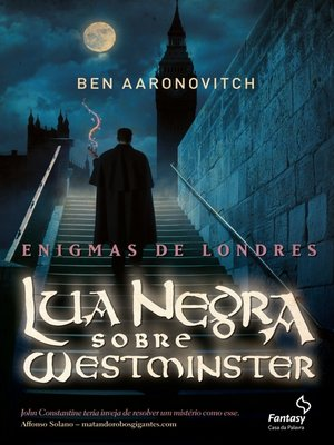 cover image of Lua Negra sobre Westminster
