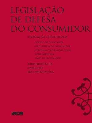 cover image of Legislação de Defesa do Consumidor